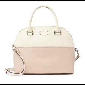 Kate Spade Carli Leather Satchel w Crossbody Strap